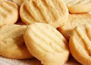 Biscoito Amanteigado com Amedoim