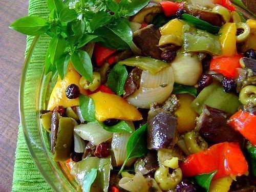 Salada Especial de Berinjela