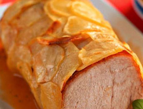 Lombo com Crosta de Batata
