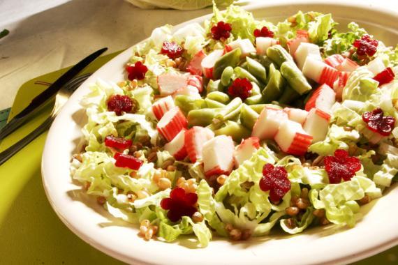 Saladas e Legumes