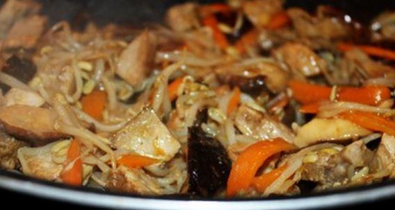 Chop Suey de Porco