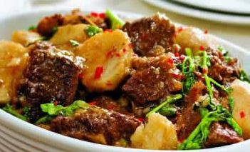 Cozido de Carne com Inhame