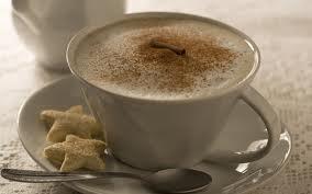 Caffè latte com baunilha