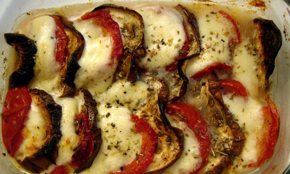 Tian provençal de legumes e frango