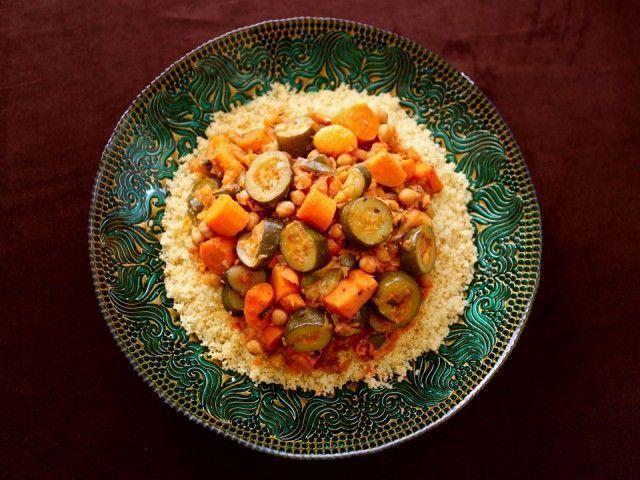 Cuscuz Marroquino com legumes