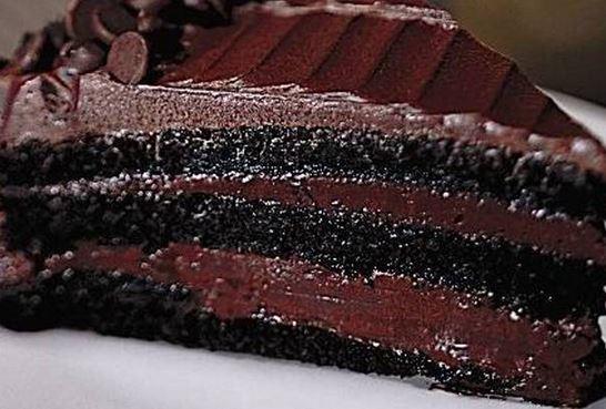 Bolo Chocolate Mousse