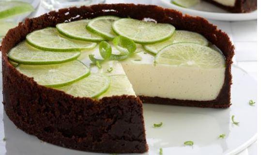 Torta de Limão com Chocolate