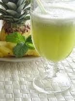 Abacaxi com vinho