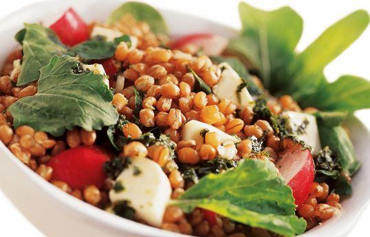 Salada de trigo com Rúcula