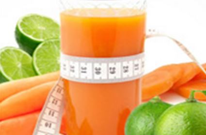 Suco de Melão com cenoura e limão