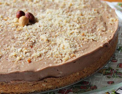 Cheesecake de Creme de Avelã