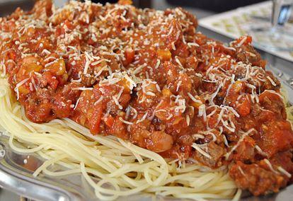 Spaghetti com Chili