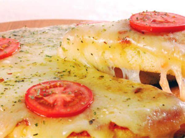 Pizza prática de liquidificador