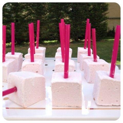 Marshmallows de Framboesa