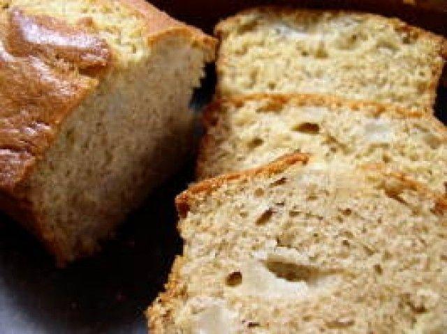 Pão de pera do outono