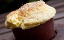 Suflê de queijo da gula