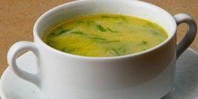 Sopa de Lobo (creme de ervilhas com Mozarella)
