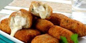 Nuggets de frango com requeijão
