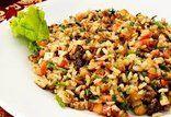 Salada 7 grãos com frango