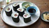 Sushi maki rápido e fácil