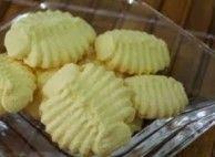 Biscoito caseiro de Maisena