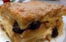 Torta Maçã Pão de Forma