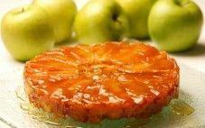 Tarte tatin com maçãs verdes
