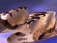 Torta de sorvete com sabor de café