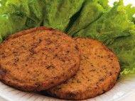 Hambúrguer de proteína de soja