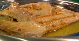 Dourado Grelhado com Molho de Manteiga e Limão