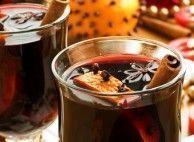Quentão sem álcool com suco de uva