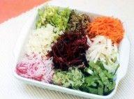 Salada Colorida de legumes
