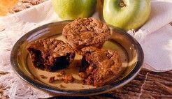 Muffin de aveia, chocolate e maçã
