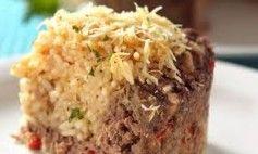 Torta salgada de arroz Legal