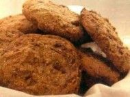 Biscoito de baunilha e açúcar mascavo
