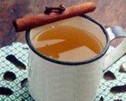 Quentão sem álcool com suco de laranja