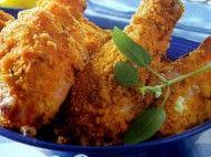Coxinhas de frango crocante