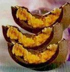 Ovos de Pascoa com Abobora e Coco