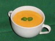 Sopa creme de Cenoura e Abóbora