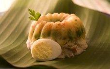 Cuscuz com pescada e legumes light