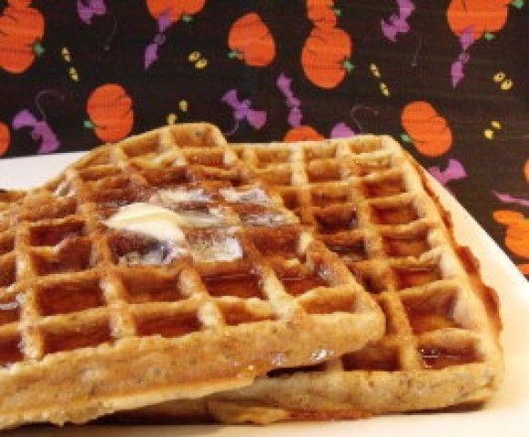 Waffles de Haloween
