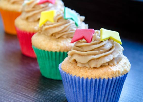 Cupcake de fubá e paçoca: conheça esta novidade