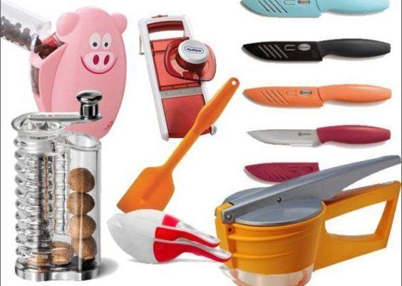Instrumentos indispensáveis na cozinha