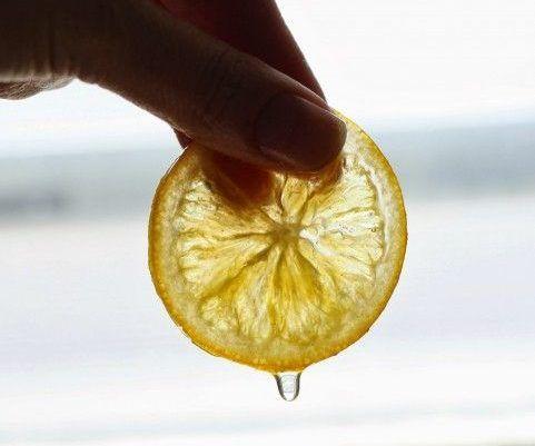 Regras para conservar limão siciliano