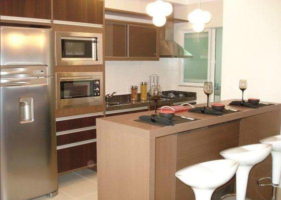 Como otimizar espaço em cozinhas pequenas