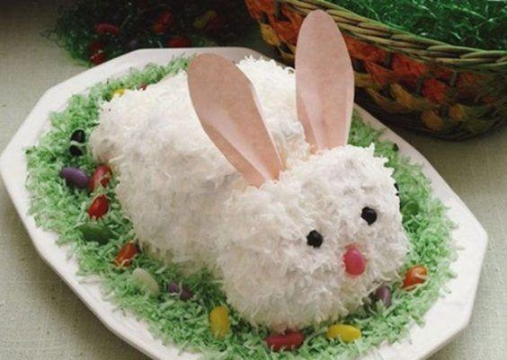 Comidas decorativas para a Páscoa