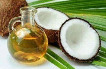 Uso do óleo de coco na alimentação