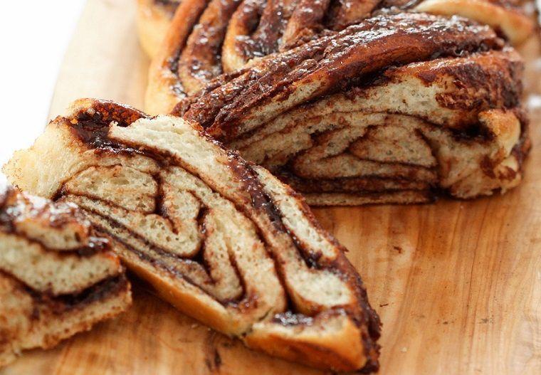 Pão Recheado de Nutella