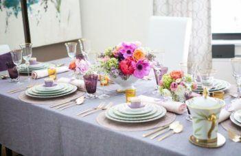 Decorações de mesa para o Dia das Mães