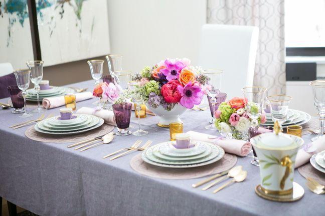 Decorações de mesa para o Dia das Mães 1